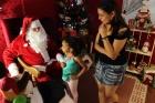 Primeira noite de visitação da Casa do Papai Noel 2016