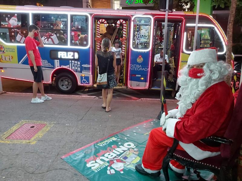 Ônibus do Papai Noel 2020