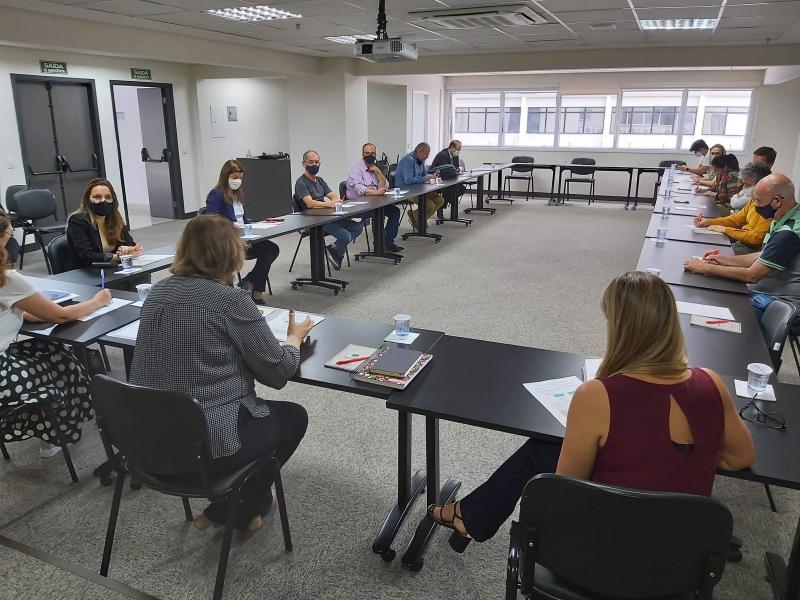 Reunião presencial Diretoria