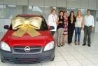 Entrega prêmios campanha de Natal 2010