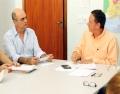 Aicita reúne-se com Prefeitura para obter respostas de requerimento acerca das enchentes