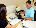 Aicita realiza biometria na emissão do Certificado Digital