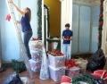 Aicita inicia montagem da 15ª Casa do Papai Noel