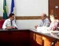 Aicita e Clube do Centro reúnem-se com prefeito de Itatiba
