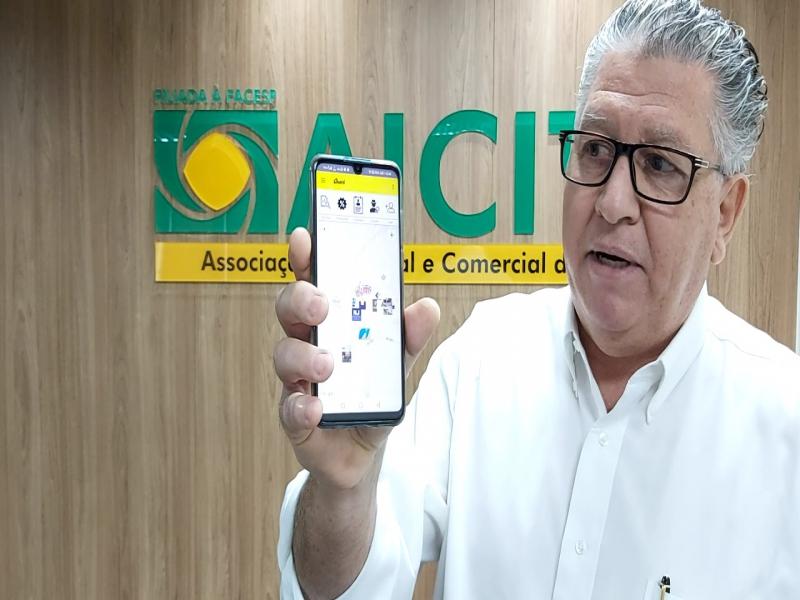Em parceria, Aicita disponibiliza app para o comércio local