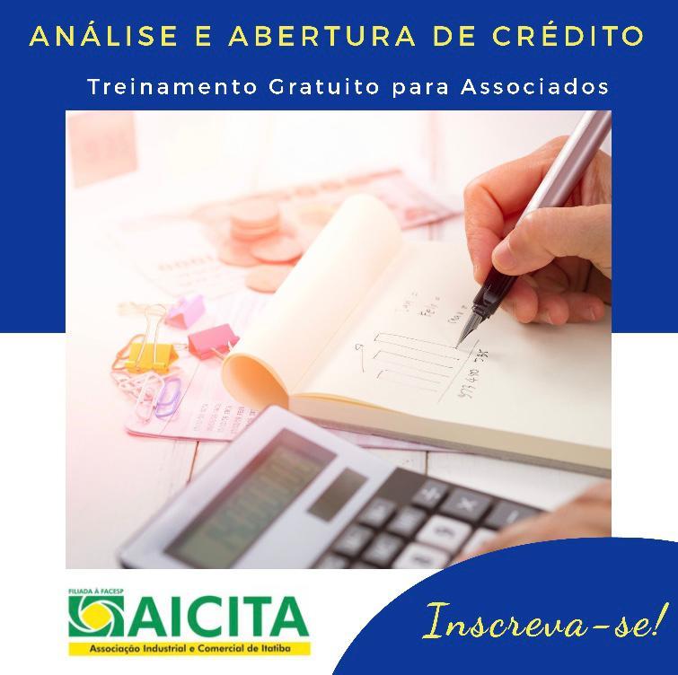 Aicita realizará primeiro treinamento online de abertura e análise de crédito