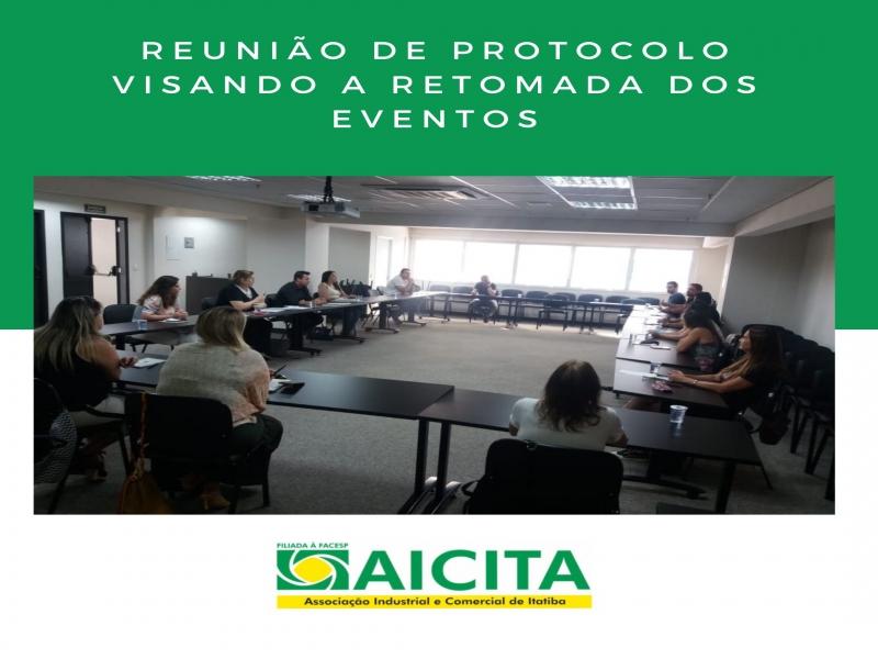 Aicita recebe empresários do setor de eventos para viabilizar retomada