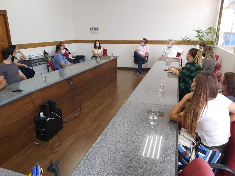 Com apoio da Aicita, retomada de setor de eventos é debatida na Prefeitura