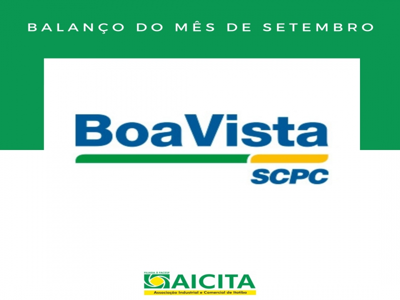 Cresce quitação de dívida no balanço do SCPC de setembro da Aicita