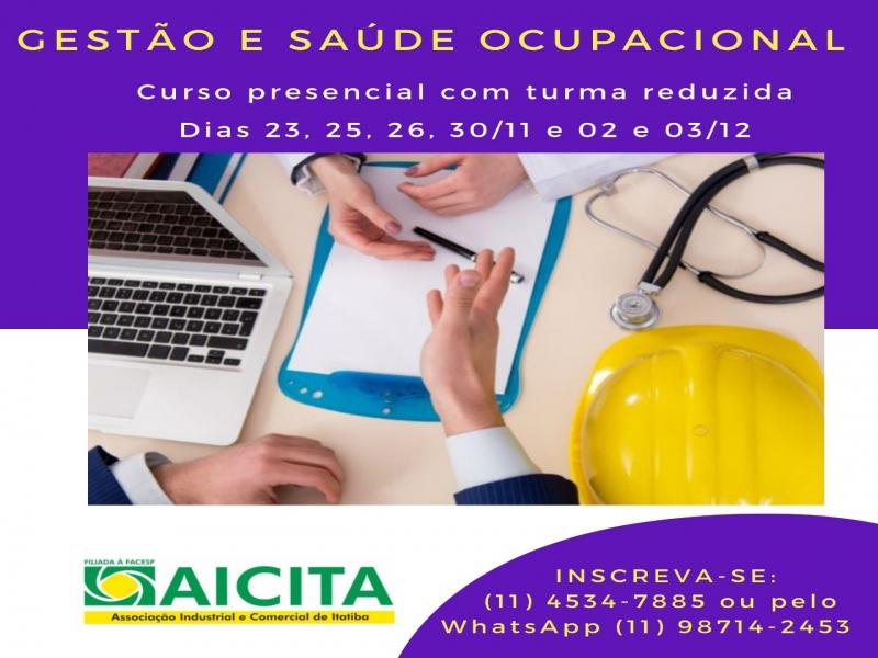 Treinamento de Segurança e Saúde Ocupacional será promovido pela Aicita