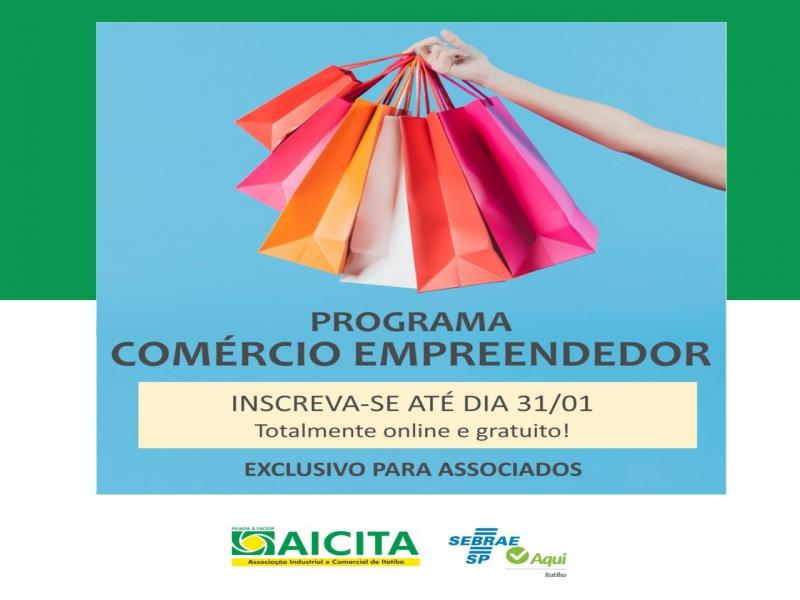 Aicita e Sebrae oferecem programa exclusivo para melhor desempenho do comércio
