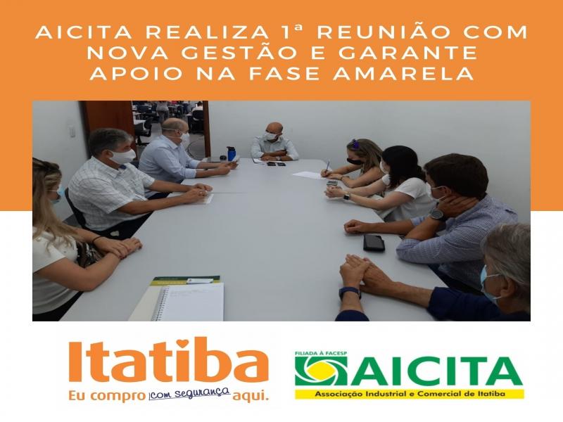 Aicita realiza primeira reunião com nova gestão e garante apoio na Fase Amarela