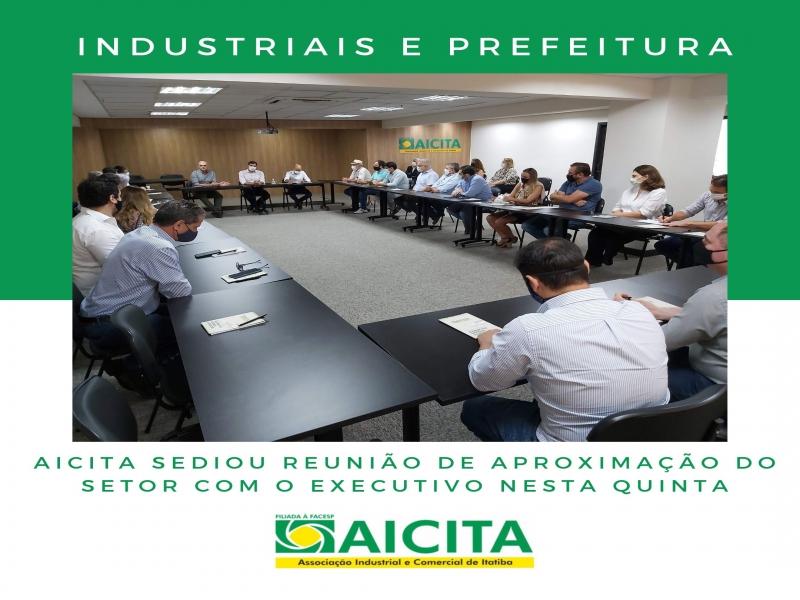 Industriais realizam aproximação com Executivo em reunião na Aicita