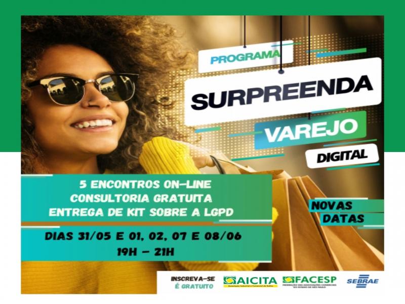 Aicita oferece aos associados capacitação Surpreenda Varejo