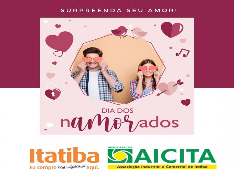 Aicita disponibiliza campanha de Dia dos Namorados para incentivar presentes na data