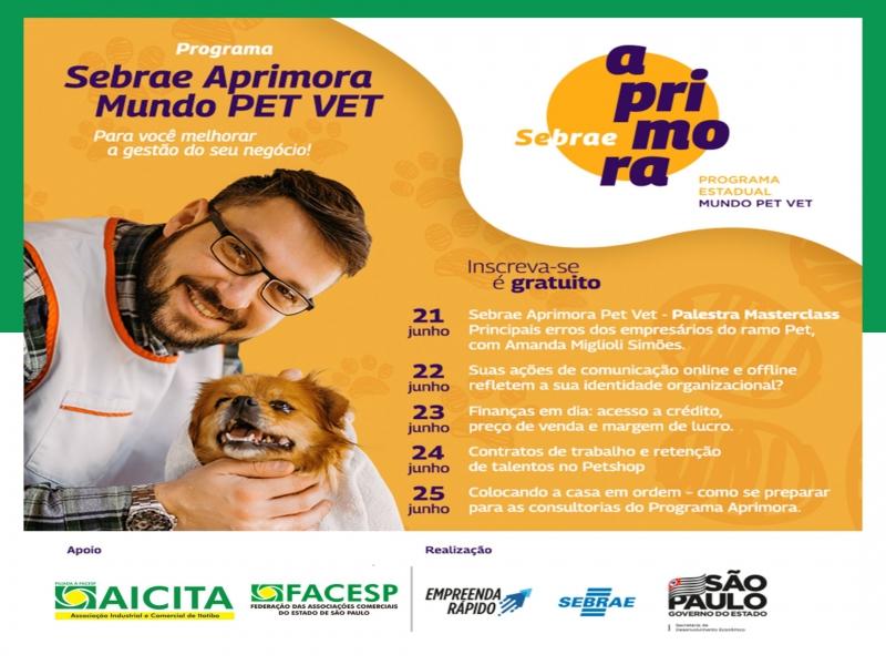 Aicita divulga capacitação gratuita para os empreendedores do setor Pet
