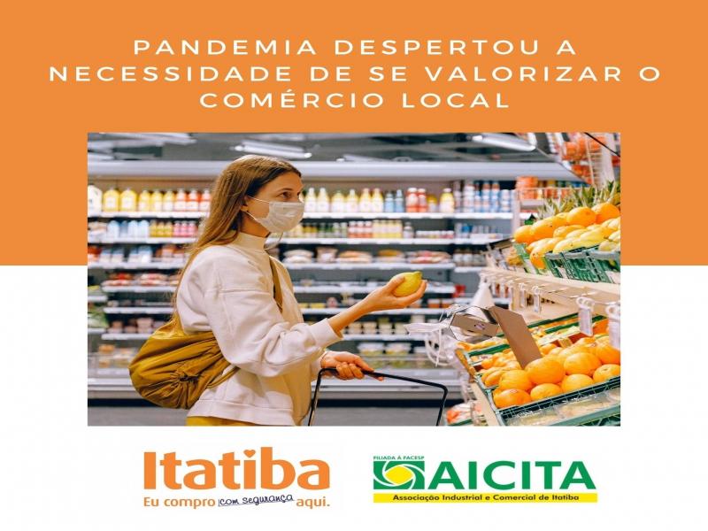 Aicita reforça que valorização do comércio local é essencial na pandemia