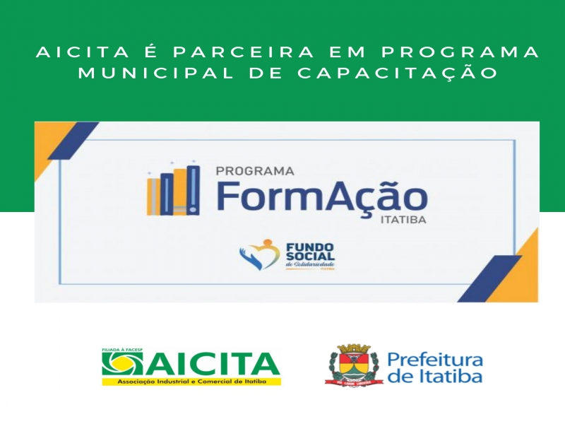 Aicita apoia programa municipal de capacitação para o comércio