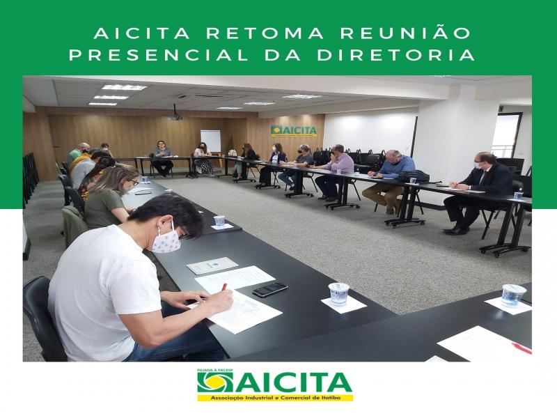 Aicita retoma reunião presencial da Diretoria