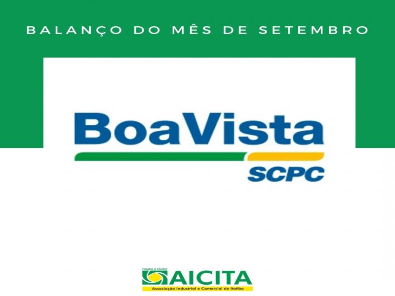 Setembro tem o segundo melhor resultado do ano de nomes excluídos do SCPC da Aicita