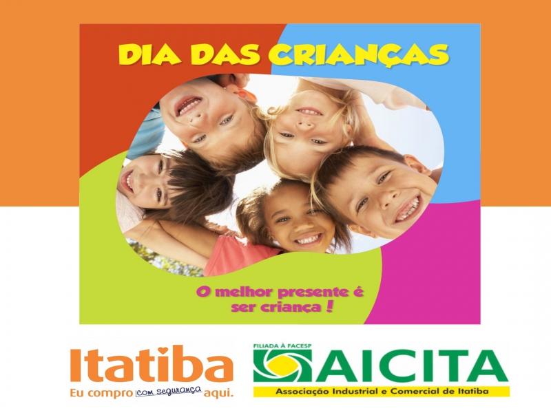 Em outubro, campanha de vendas da Aicita é pelo Dia das Crianças